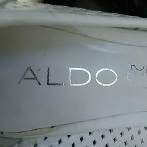 Aldo Massillon White Summer Pumps
